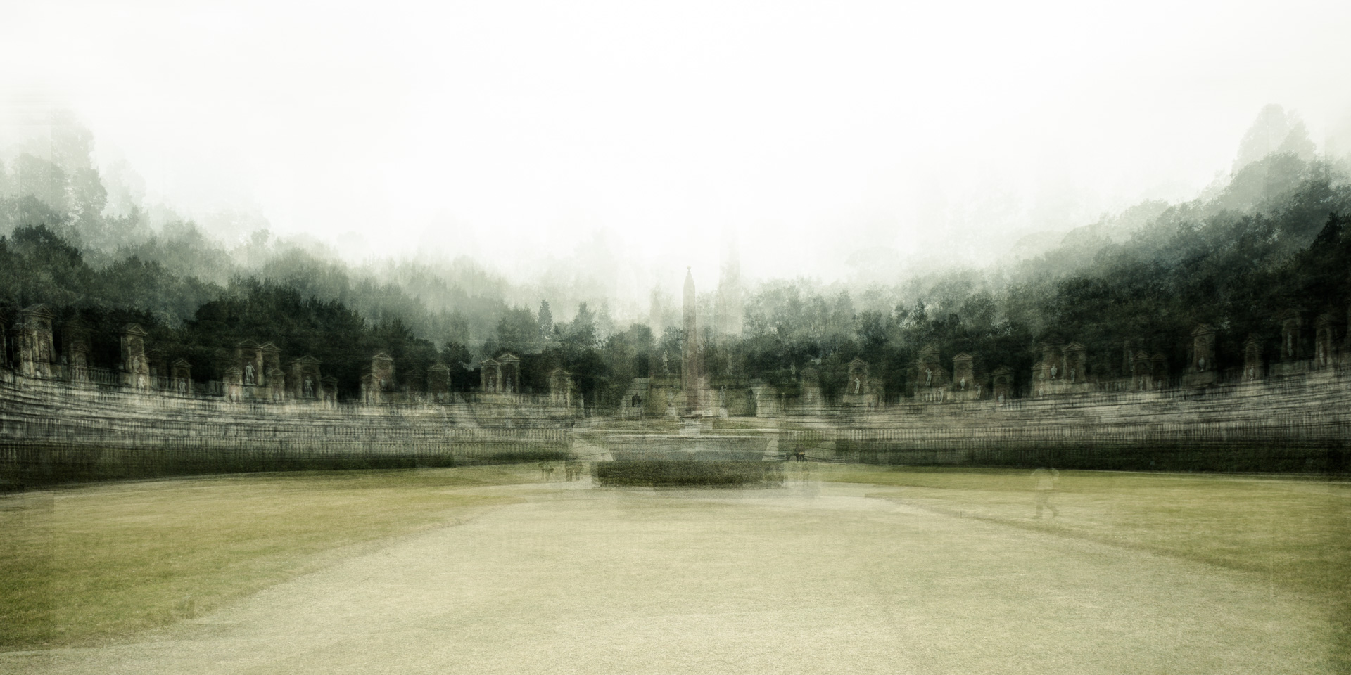 Anfiteatro Giardino di Boboli - Riccardo Magherini Fine Art Photography
